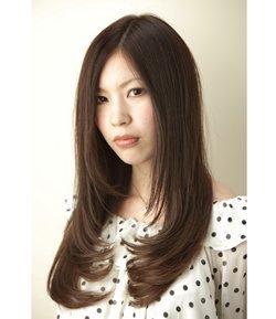 髪型 ロング ストレート シャギー